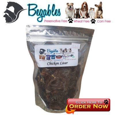 Chicken Liver Dog Training treats