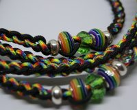 Beaded Paracord Leash