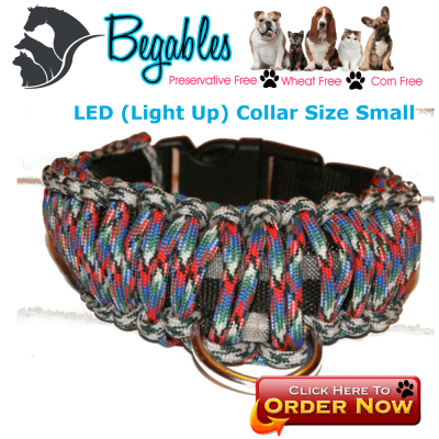 LED Paracord Collar
