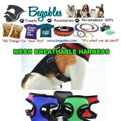 mesg breathable pet harness