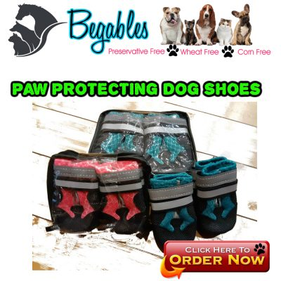 Paw protecting waterproof dog boots