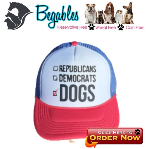 Political Vote for Dogs Hat
