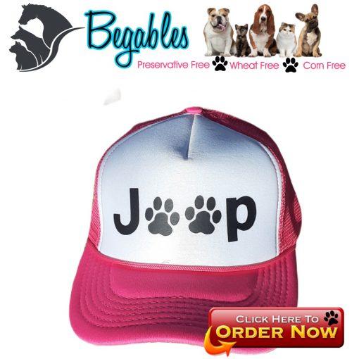 Jeep Paw trucker hat