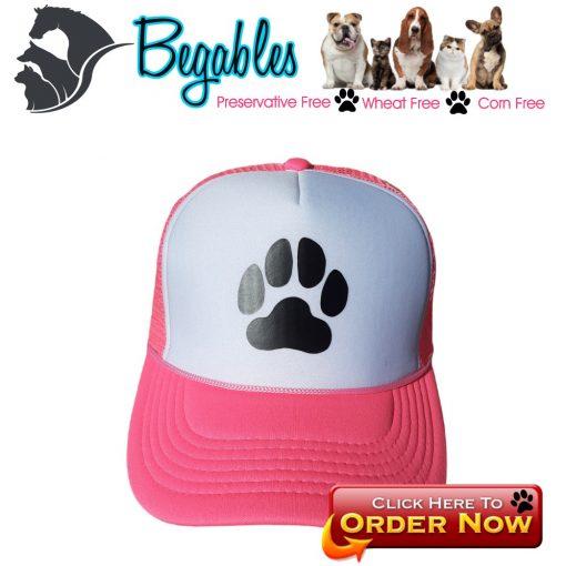 Dog Paw trucker hat