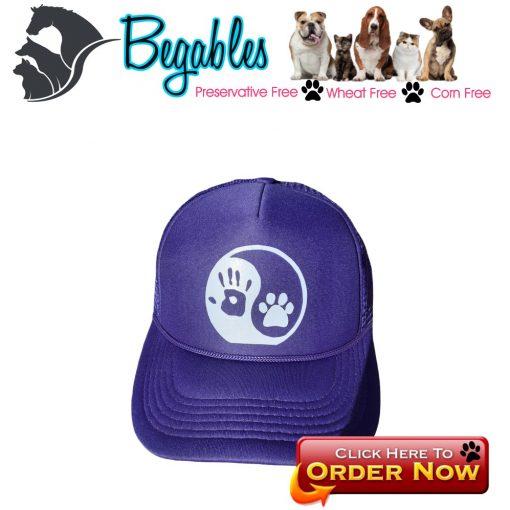 Yin Yang Dog Trucker hat