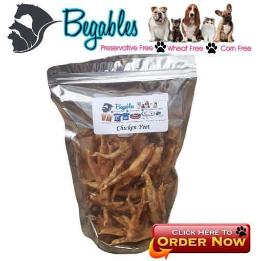 chicken feet dog treats